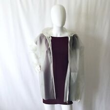 Vintage Tommy Hilfiger Translucent Rain Coat, Women's Large