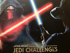 STAR WARS JEDI CHALLENGES VR HEADSET W/ EVERYTHING IN BOX. GENTLY USED