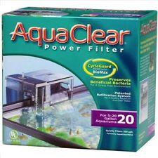 AquaClear 20 Hang On Filter - 18-76l Aquariums