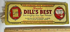 VINTAGE DILLS BEST TOBACCO PIPE CLEANERS PACKAGE