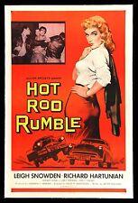 "Hot Rod Rumble Movie Poster Replica 13x19/"" Photo Print"
