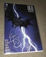 Dark Knight III #1 Batman Head Sketch DF Cover Signed & Remarked Ken Haeser COA