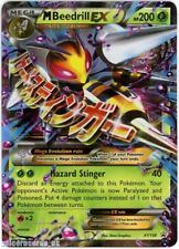 Mega M Beedrill EX XY158 Mint Holo Pokemon Card