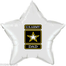 ARMY STRONG DAD MYLAR BALLOON DECORATIONS Party Supplies FREE SHIPPING