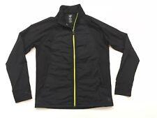 Men's REI Medium Black Light Hybrid Jacket Active XC Ski Run Cycle