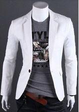New Stylish Men's Casual Slim Fit One Button Suit Blazer Coat Jacket Top XL