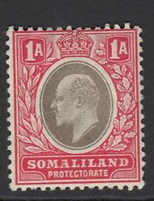 Somaliland. SG46a. 2r grey-black/red (chalky paper). Mounted mint