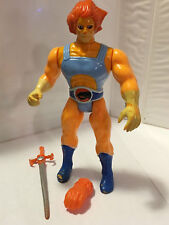 1985 LION-O (ORANGE) w/SWORD of OMENS • VINTAGE LJN THUNDERCATS