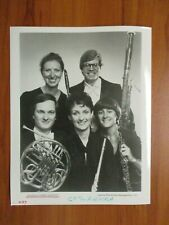 Glossy Press Photo - Borealis Wind Quintet Aurora Borealis Wind Quintet 1987