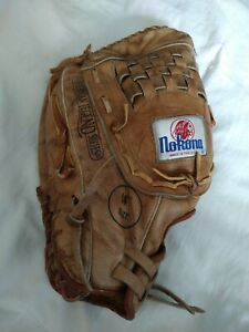 "Nokona AMG-700 softball/ Baseball Glove 14"" Vintage American Legend Series LHT"