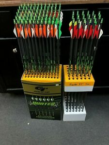 Gold Tip Hunter XT 500 Spine 6-Pack Archery Bow Hunting Arrows