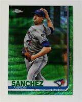 2019 Topps Chrome Green Wave #132 Aaron Sanchez /99
