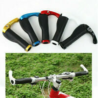 1 Pair Ergonomic MTB Mountain Bike Handlebar Rubber Grips Cycling Lock-On Ends