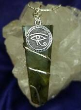 Egyptian Udjat Eye of Ra Horus Pendant Jewelry Necklace Silver Plated Chain