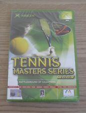 Tennis Masters Series 2003 - PAL - Microsoft XBOX Game - New & Sealed