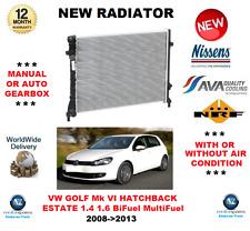 Pour VW Golf Mk VI 5K1 AJ5 1.4 1.6 Bifuel Multifuel 2008-2013 Neuf Radiateur