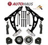 FOR VW TOURAN 2003-2011 FRONT LOWER WISHBONE CONTROL SUSPENSION ARMS FULL KIT