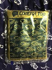 Silkies Control Top Pantyhose w/ Support Legs - Queen Beige - Nylon Spandex NEW