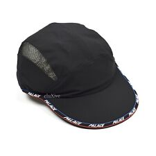 NWT Palace Running It Shell Brim Logo Men's Nylon Hat Cap Black FW20 AUTHENTIC