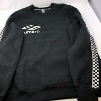 Umbro Sports Soccer Sweatshirt Black and White Mens Medium
