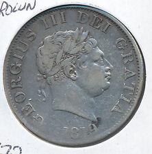GREAT BRITAIN HALF CROWN 1819 KM672 - VF