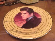 Elivis presley Jailhouse Rock Nate Giorgio Bradford Exchange Collectors Plate