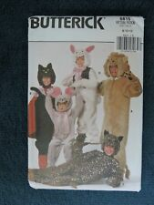 VINTAGE SEWING PATTERN: BUTTERICK 6815. SIZE 8-12 CHILD. HALLOWEEN COSTUMES