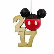 Hallmark Disney Mickey Mouse Icon 2017 Christmas Tree Decoration Ornament
