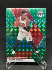 2019-20 Panini Mosaic NBA Hassan Whiteside Green Mosaic Prizm Trail Blazers