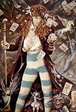 """The Magician"" by Brian Froud  FANTASY ART PRINT"