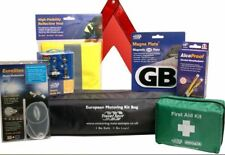 Comprehensive European Motoring Kit £ 37.00 includes French alcohol breath test