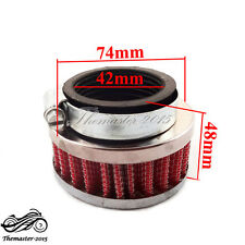 High Performance 42mm Air Filter For GY6 150cc ATV Quad Go Kart Moped Scooters