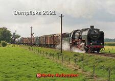 Dampfloks 2021 – Eisenbahn-Kalender A2 quer