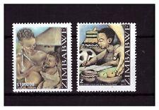 ZIMBABWE 2007 CHILD LIFE SET 1241TO 1242