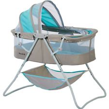 Baby Bassinet W/ Storage Infant Nursery Crib Basket Sleeper Bed Cradle Foldable