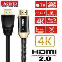 1.5m/ 150cm PREMIUM 4K HDMI HIGH SPEED 3D V2.0 LEAD ULTRAHD HDTV GOLD CABLE LEAD