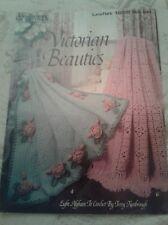 Liesure Arts Leafllet #1292 Victorian Beauties Afghans 8 Designs to Crochet