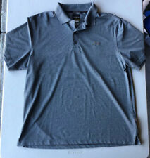 Men's Greg Norman for Tasso Elba Play Dry Ss Polo Shirt Pre-Owned Size L