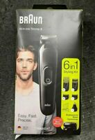 Braun 6-in-1 Styling Trimmer Kit 0191A21804 Black BRAND NEW