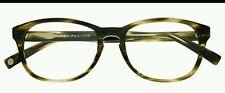 Warby Parker Dale 241 eyeglass frames  Striped Olive   53 18 145 NEW