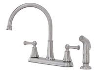 Pfister Bremerton 2-Handle Kitchen Faucet