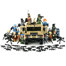 Military minifigures weapons H- Jeep building block toy boy's gift