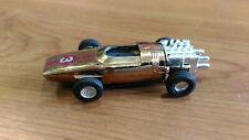 Vintage Formula #3 Gold Faller AMS Tyco Tomy AFX Aurora H0 Slot Car