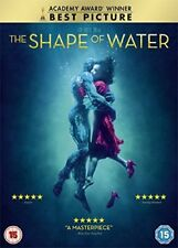 The Shape of Water DVD Sally Hawkins Michael Shannon 5039036083119