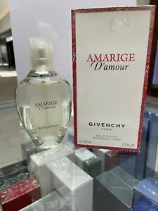 AMARIGE D' AMOUR 3.3OZ EDT SPRAY FOR WOMEN BY GIVENCHY Discontinue New in a box