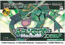 Game Boy Advance Pokemon Emerald - Japanese Import F/S