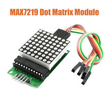 MAX7219 RED DOT Matrix 8X8 Display Module with Cables for Raspberry Pi Arduino