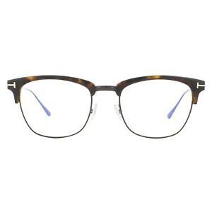 Tom Ford Eyeglasses FT5590-B 052 Dark Havana Men Women