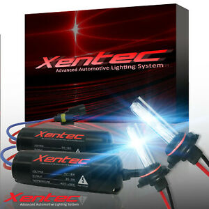 Xentec HID Conversion Kit 35W Xenon Light Headlight Foglight 40000 Lumens