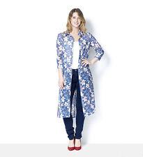 JOE BROWNS Size UK12(10)* Summer Bloom Longline Blouse Floral Print 3/4 Sleeve